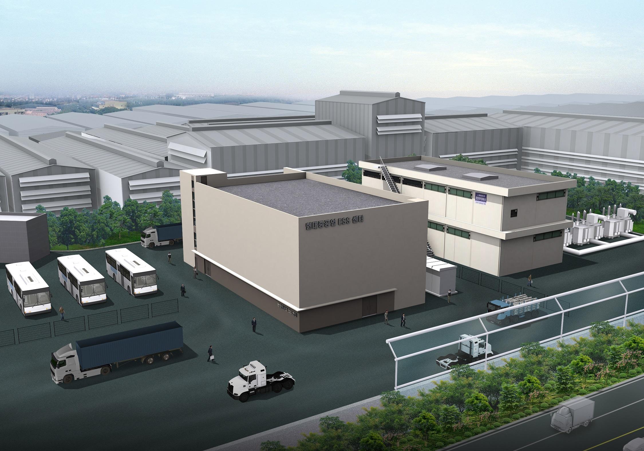 현대일렉트릭, 50MWh급 에너지저장장치(ESS) 설치